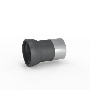 Патрубок Раструб-Гладкий конец с переходом на сталь (ПРГ сталь) 100