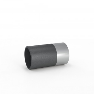 Патрубок гладкие концы с переходом на сталь (ПГ сталь) 600